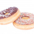 Stock Photo: Two donuts