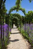 Giardini del generalife a granada, spagna — Foto Stock