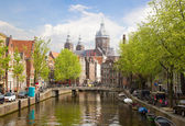 Church of St Nicholas , Amsterdam — Stock Photo