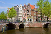 Canal ring, Amsterdam — Stock Photo