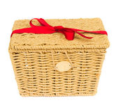 Gift basket — Stock Photo