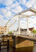 Gravestenebrug bridge in Haarlem — Stock Photo