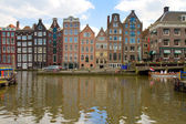Old canal of Amsterdam — Stock Photo