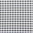 Checkered fabric closeup , tablecloth texture — Stock Photo