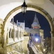 Fisherman's Bastion at night, Budapest — Stock Photo #31257129