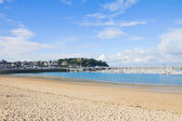 Beach of Saint-Malo, Brittany, France — Foto Stock