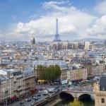 Skyline of Paris, France — Stock Photo