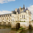 Stock Photo: Chenonceau castle, France