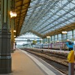 Old railway station, Tours — Stock Photo #32754855