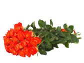 Bouquet of orange roses — Foto de Stock