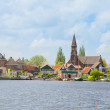 Zaandijk waterfront, Netherland — Stock Photo