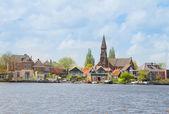 Zaandijk waterfront, Netherland — Stockfoto