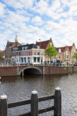 Historical centre of Haarlem, Holland — Stock Photo