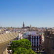 Cityscape of Seville from above, Spain — Stock Photo