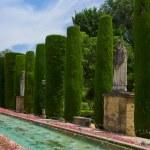 Gardens at the Alcazar in Cordoba, Spain — Stock Photo #34220829