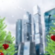 Christmas in the city — Stock Photo #34240695