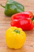 Paprika peppers — Stockfoto