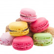 Pile   of macaroons — Stock Photo