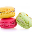 Three  macaroons — Stock Photo