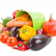Pile  of raw  vegetables — Stock Photo