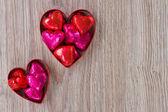 Heart candies — Stock Photo