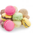 Heap Of Fresh Macaroons — Stock Photo