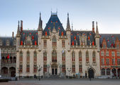 City hall of Bruges — Stock Photo