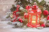 Farol de navidad — Foto de Stock