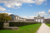 Cinquantennaire Park in Brussels — Stock Photo