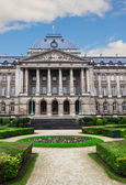 Facade of Royal Palace of Brussels — Stock Photo