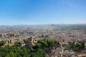 Granada from above, Spain — Stockfoto