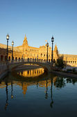 Plaza de España, Seville, Spain — Stock Photo