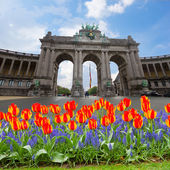 The Triumphal Arch in Brussels — Stock Photo