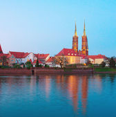 Island Tumsk, Wroclaw, Poland — Stock Photo