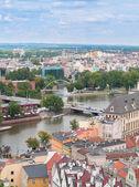 城市景观的弗罗茨瓦夫,波兰 — 图库照片