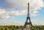 Eiffel tour and from  Trocadero, Paris — Stock Photo