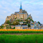 Abbey  of Mont Saint Michel, — Stock Photo