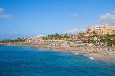 Playa fanabe, teneryfa, hiszpania — Zdjęcie stockowe