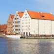 Granary island in Gdansk, Poland — Stock Photo #45417373