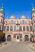 Old baroque style great armory Gdansk, Poland — Stock Photo