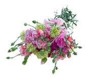 Букет разноцветных цветов гвоздики — Стоковое фото