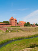 Medieval castle in Malbork — Stock Photo