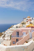 Oia, traditional greek village — Stock Photo