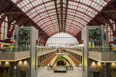 Antwerpen Central Railway Station — Stock Photo
