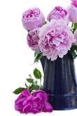 Bukiet różowe piwonie — Zdjęcie stockowe