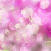 Pink Festive background with lights — Stock Photo