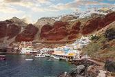 Amoudi bay, Santorini, Greece — Foto de Stock