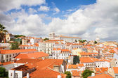 The Graca quarter, Lisbon, Portugal — Stock Photo
