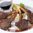 Foto Stock: Mutton steak