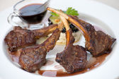 Bistecca di castrato — Foto Stock